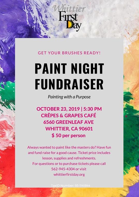Painting Night Fundraiser