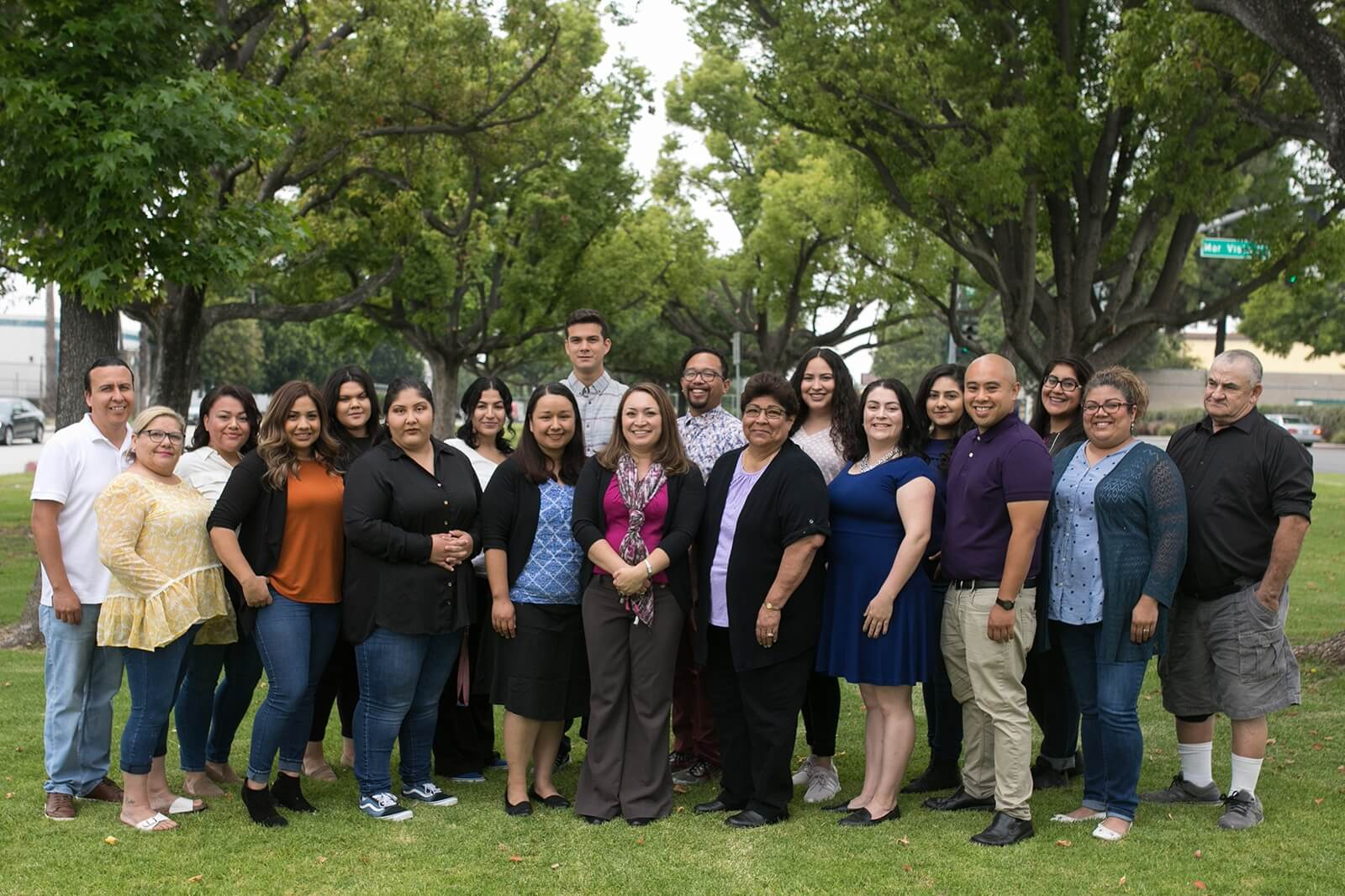 Whittier First Day Staff Photo
